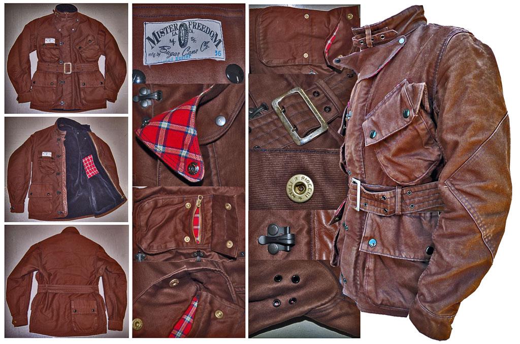 Mister Freedom X Sugar Cane Mulholland Master Jacket