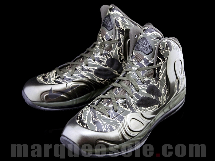 quality design b56d8 1dad4 Nike Air Max Hyperposite 2012 – Tiger Stripe Camouflage Shoe