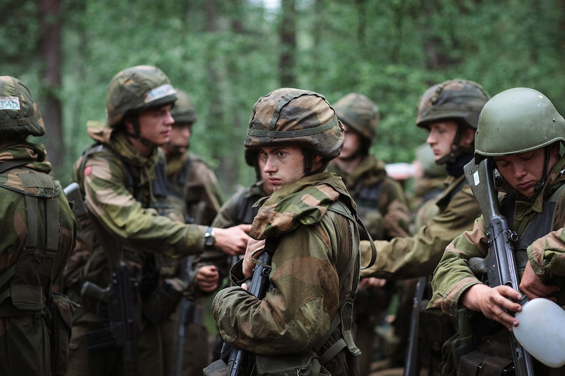Photographer thomas ekstrom at norway s army officer training school - Military officer training school ...