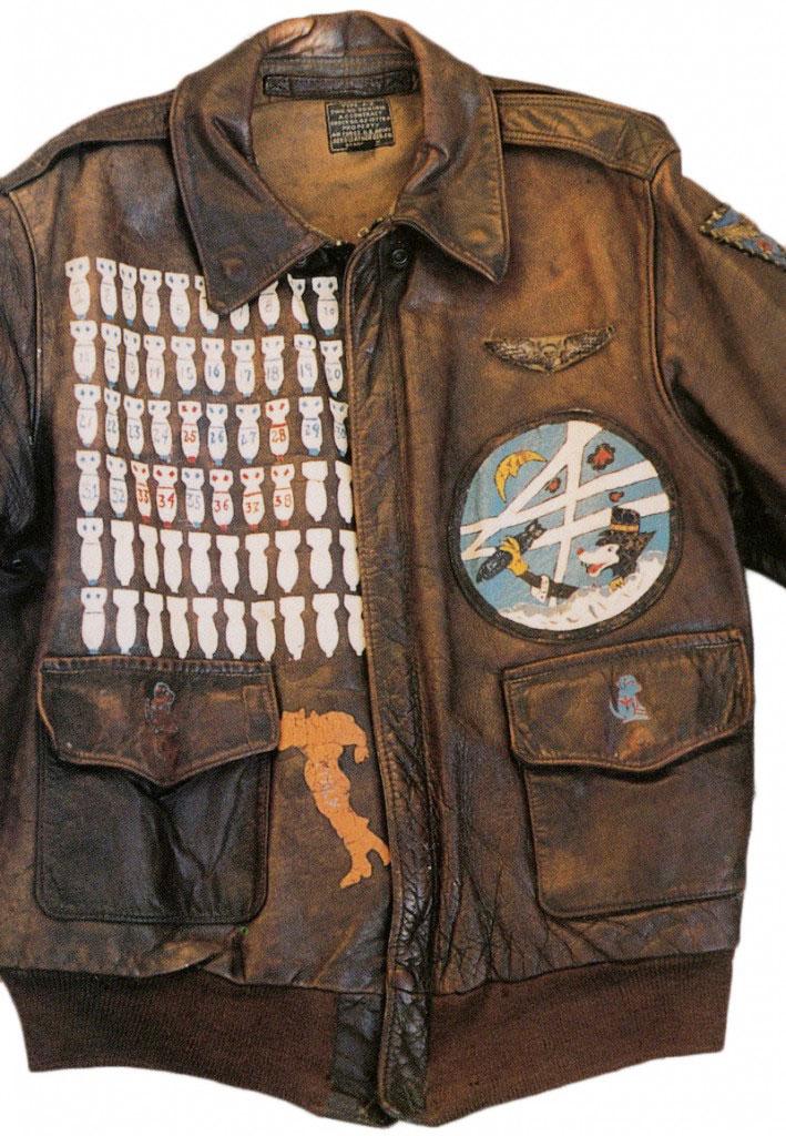 Photographs leather flight jackets - borzii