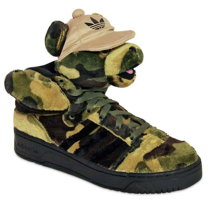 Jeremy-Scott-Adidas-Camo-Bear-Shoes-Front