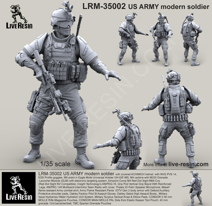 Live-Resin-Military-Scale-Model