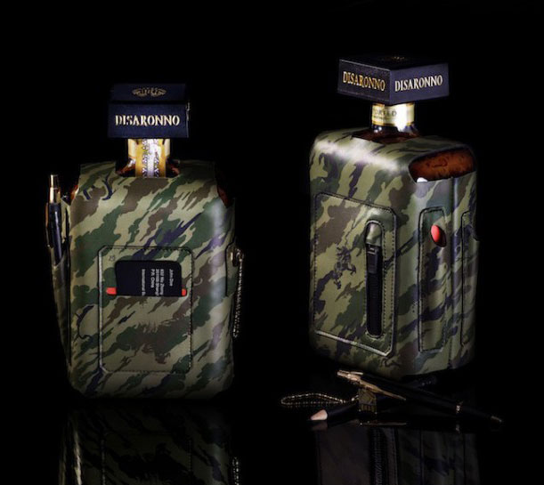 Maharishi-Bagjack-DISARONNO-Liquor-Bottle-Sleeve