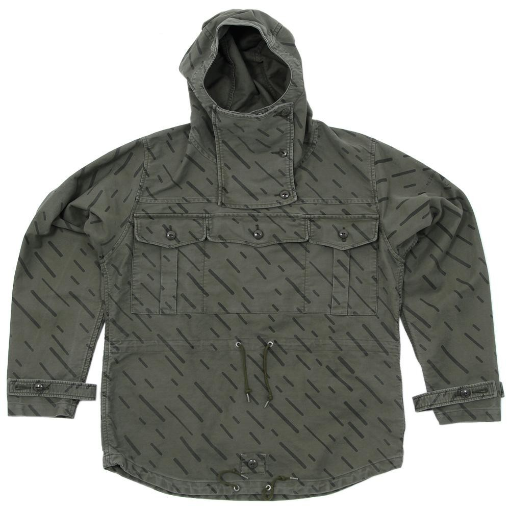 Neighborhood-Cav-Empty-Black-Rain-Camouflage-Smock