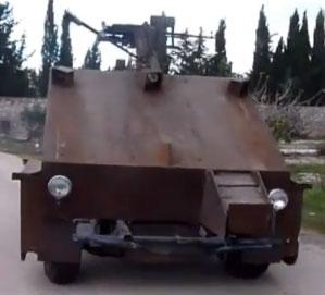 Syria-DIY-Tank-Playstation-Controller
