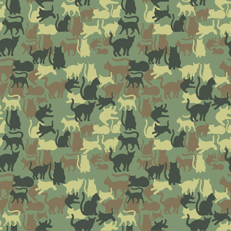 Catmouflage-Camo-Pattern