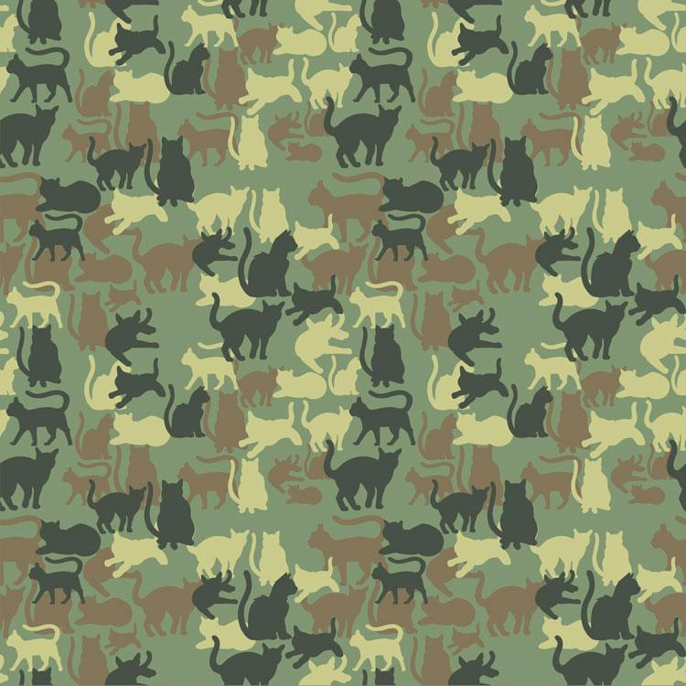 Catmouflage-Camo-Pattern