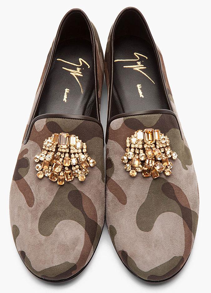 Giuseppe-Zanotti-Camouflage-Bejeweled-Loafers
