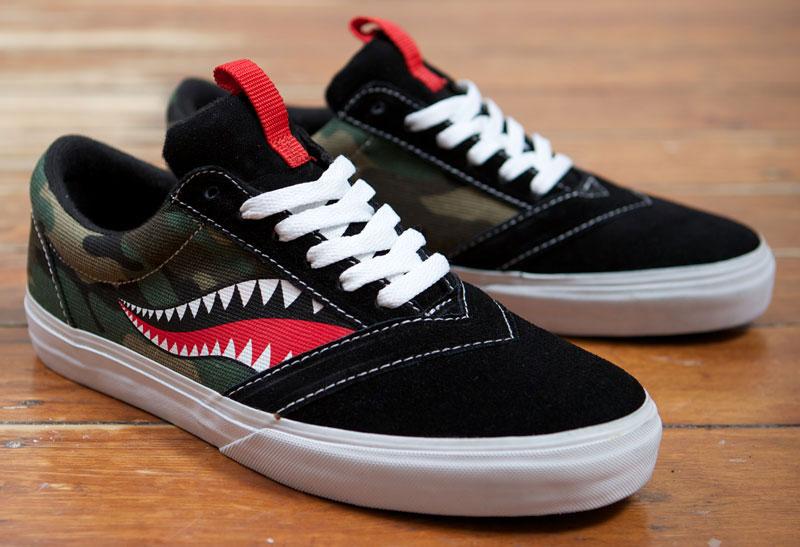 Losers-Shoe-Camo-Shark-Nose-Art-1