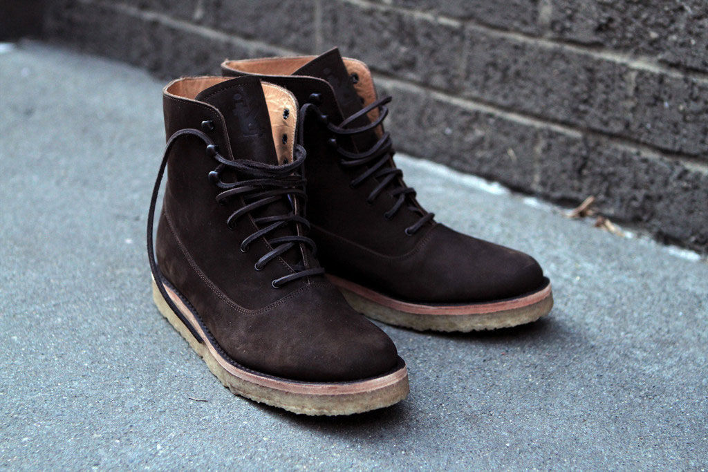 Ronnie-Fieg-Caminando-KithNYC-Officer-Boots-Brown