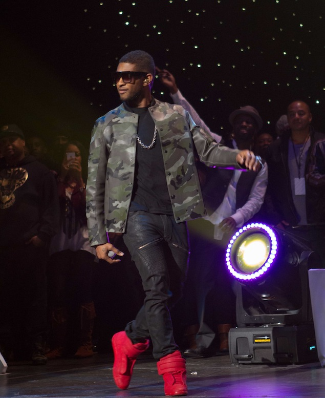 Usher-Valentino-Leather-Camo-Jacket