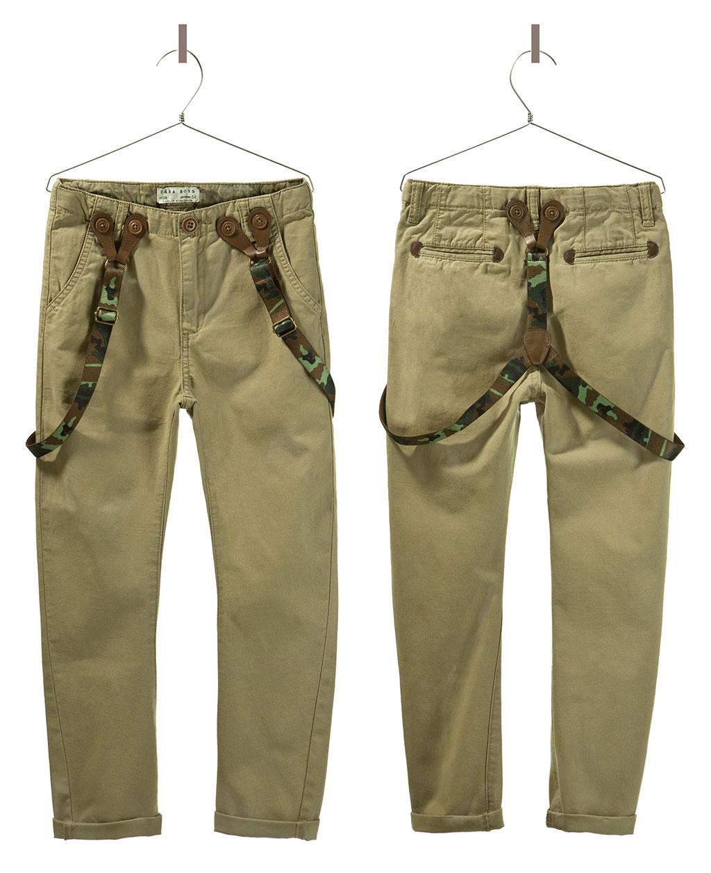 Zara-Camouflage-Suspenders-Chinos