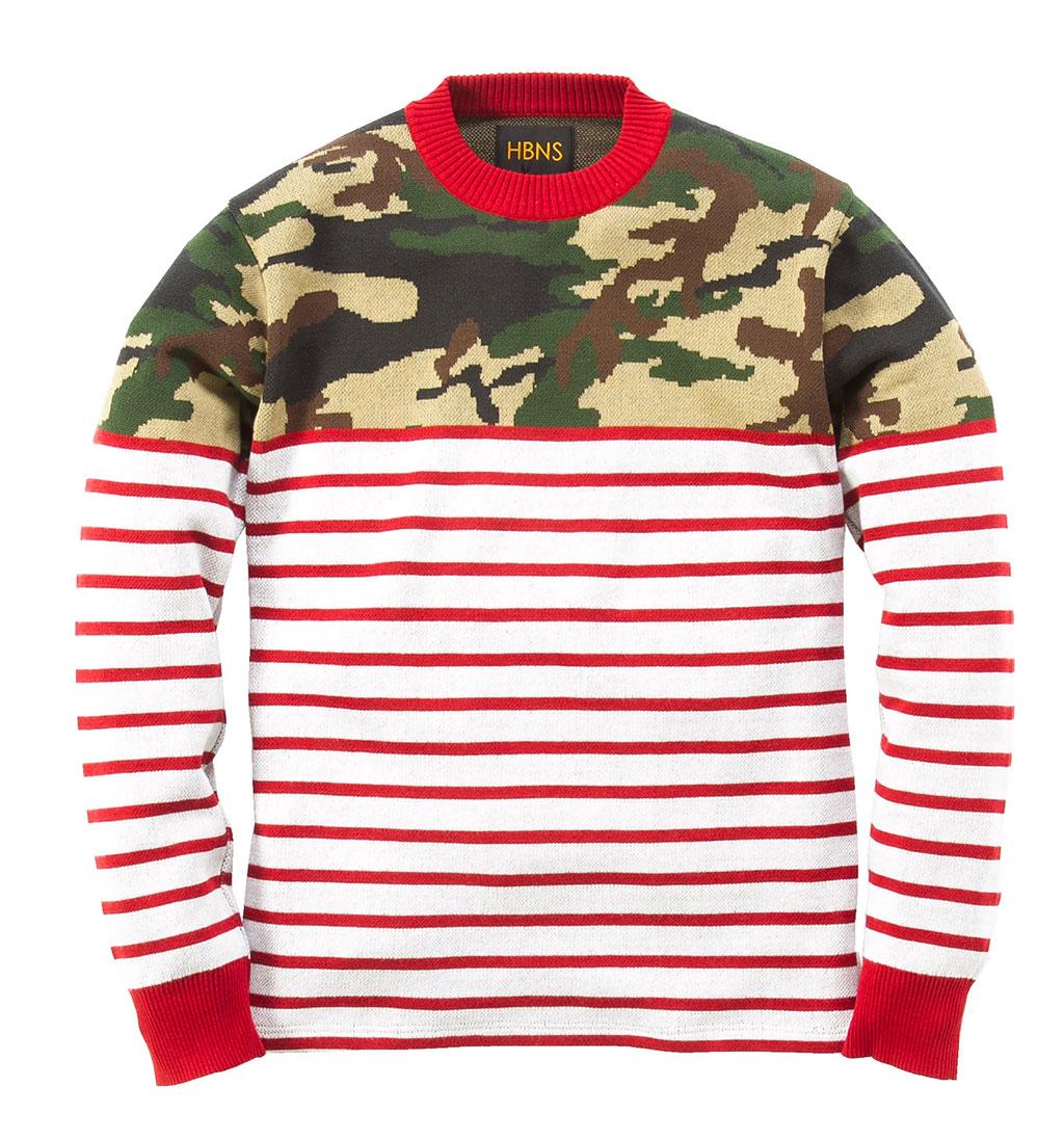 Habanos-Camouflage-Marine-Nautical-Knit-Sweater-1