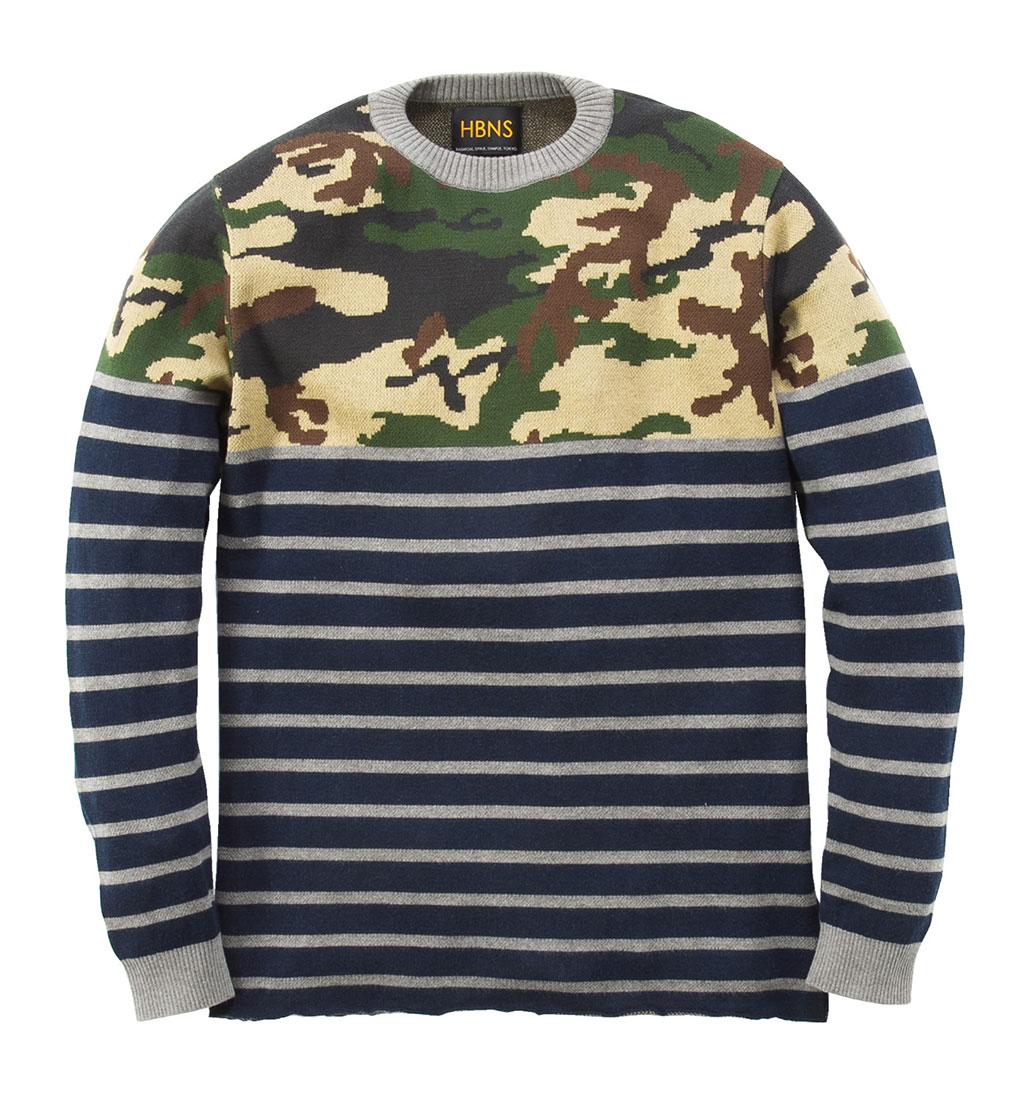 Habanos-Camouflage-Marine-Nautical-Knit-Sweater-2