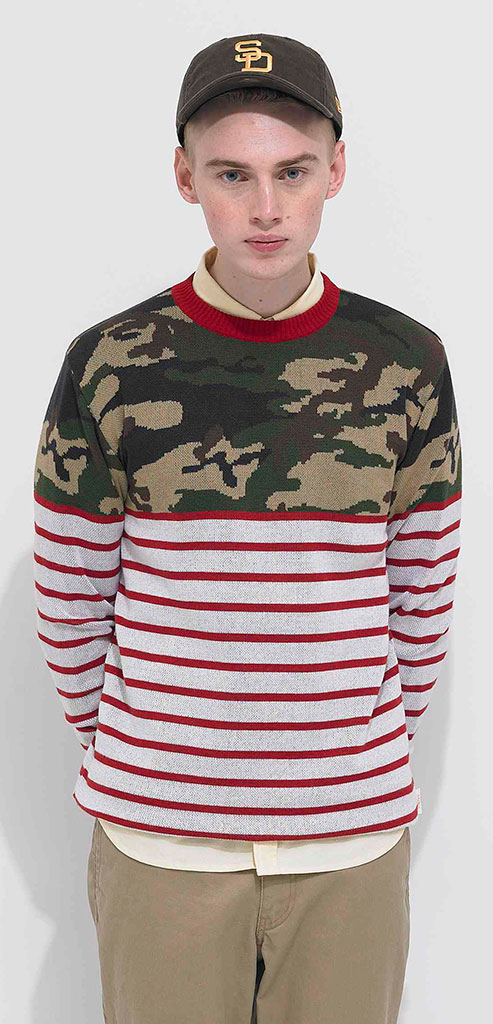 Habanos-Camouflage-Marine-Nautical-Knit-Sweater