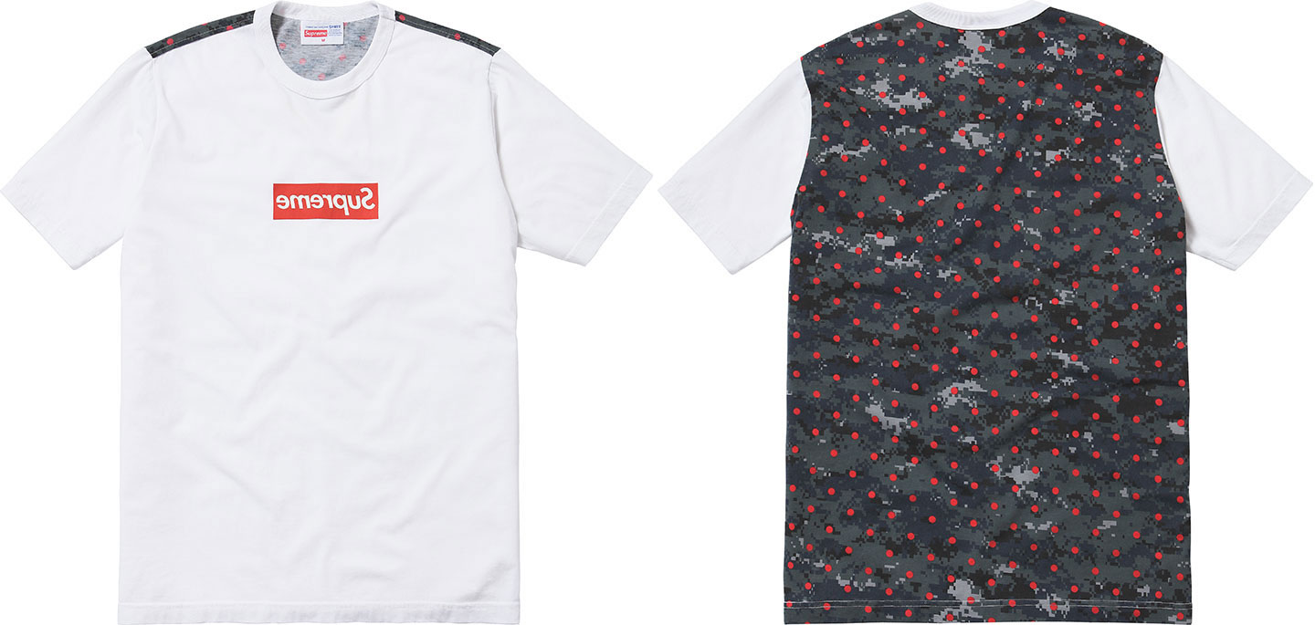 Supreme-Comme-Des-Garcons-Polkadotted-Digital-Camouflage-tshirt