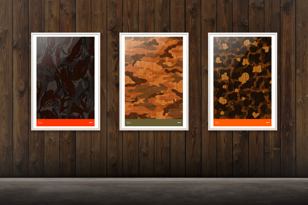 MSTRPLN-Wood-Grain-Camouflage-Posters