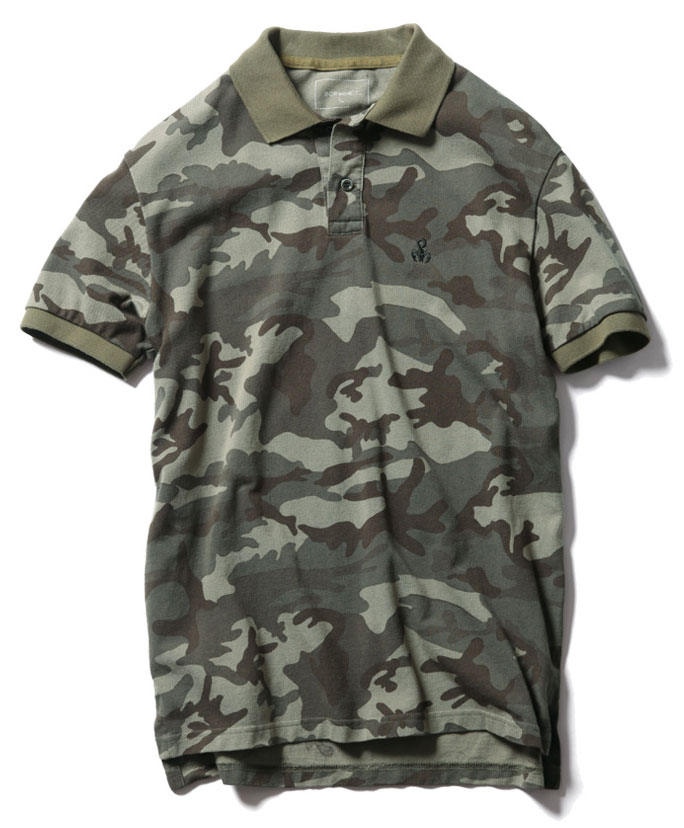 SOPH-Camouflage-Seed-Stitch-Polo-Shirt