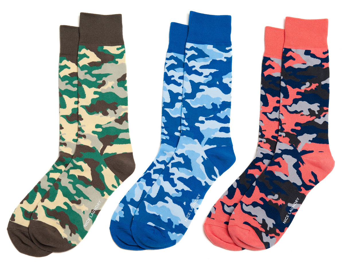 Nice-Laundry-Camouflage-Socks