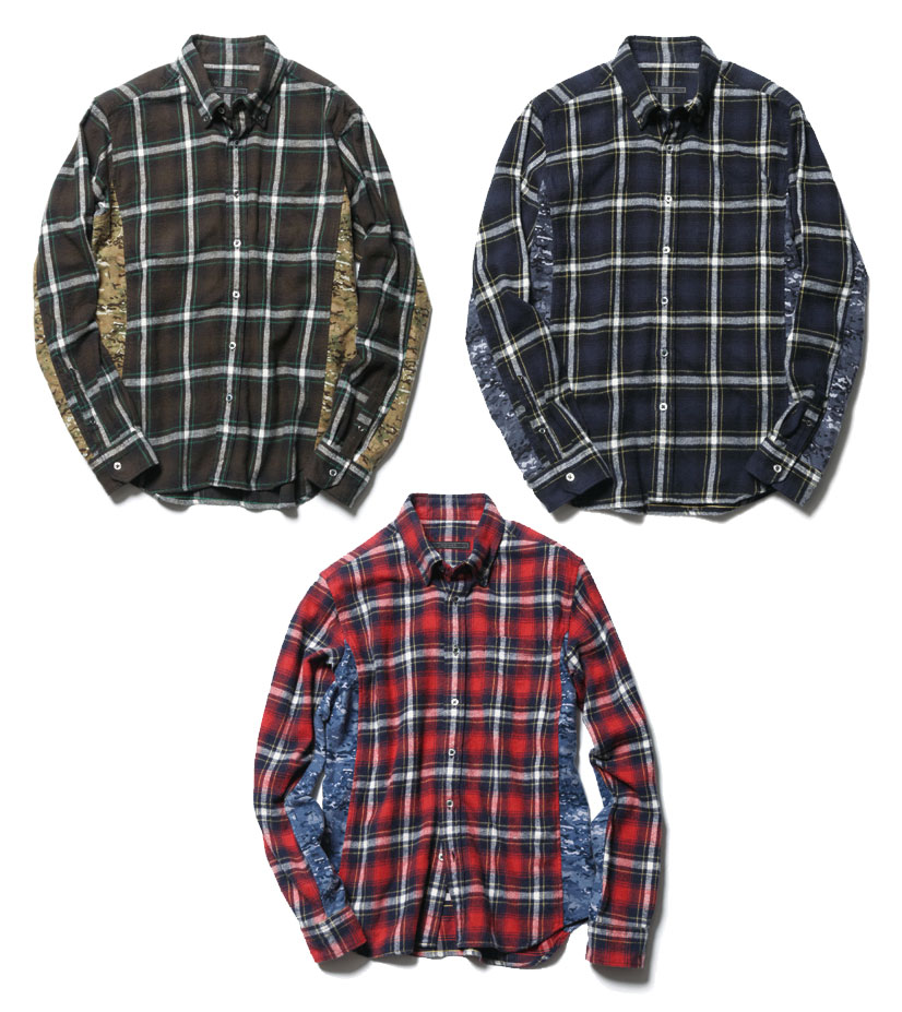 Sophnet-Camouflage-Flannel-Multicam