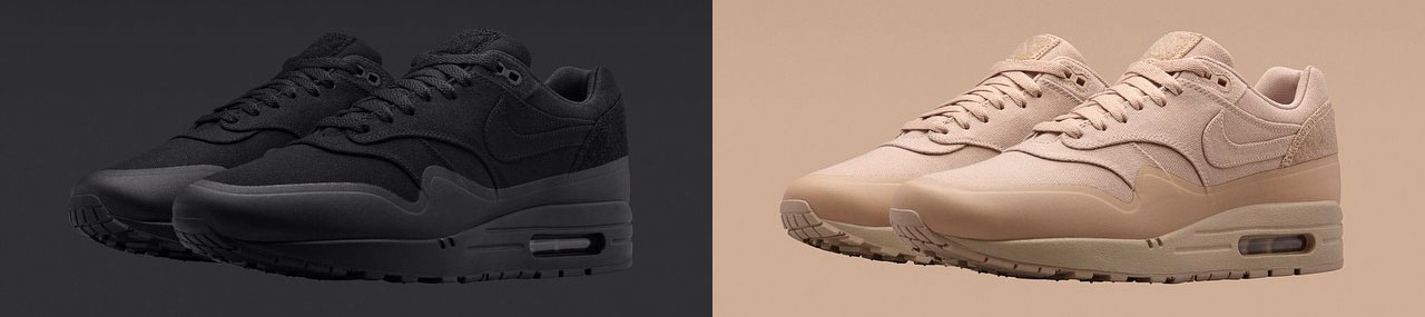 Nike-Military-Air-Max-1-Tan-Black